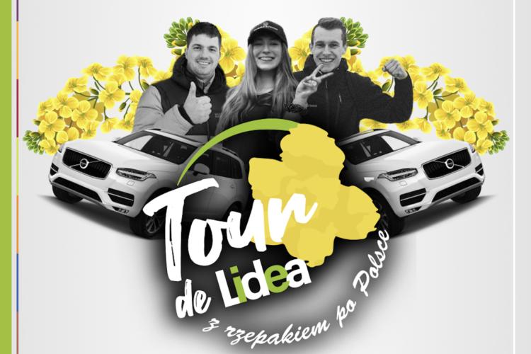 Tour de Lidea z rzepakiem po Polsce